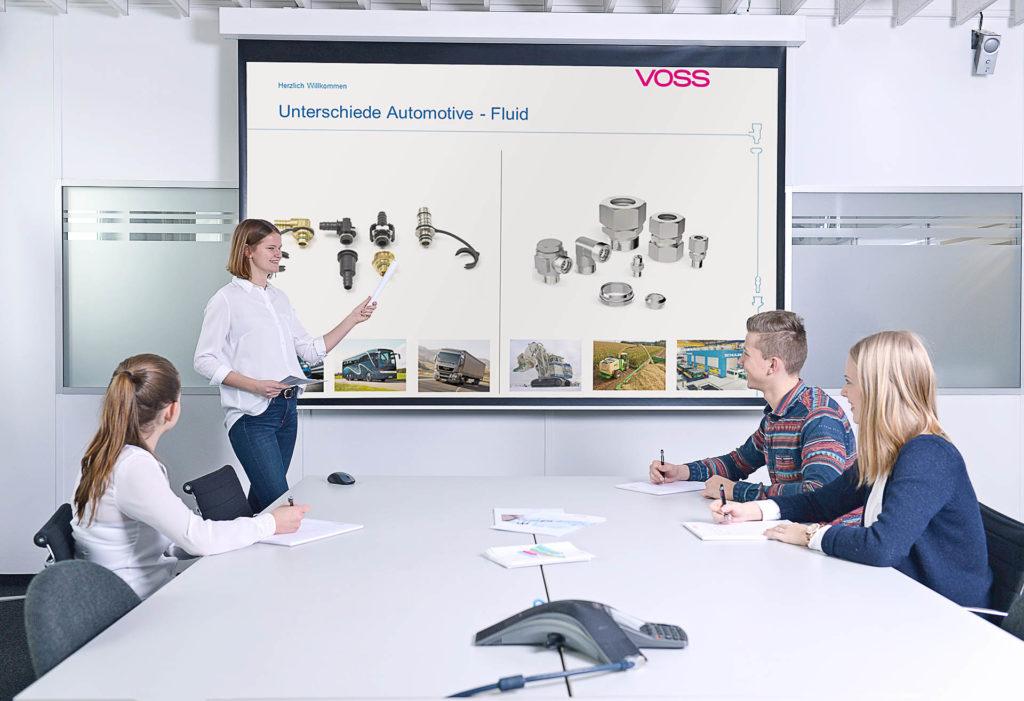 Karriere bei VOSS – Praktika. Alle Infos über Deine Perspektiven.